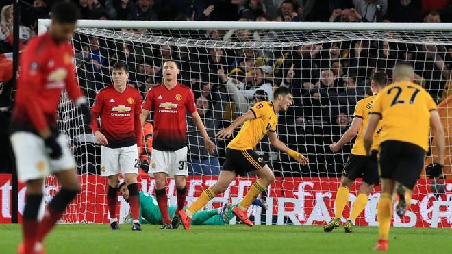 Manchester United scheiterte im FA Cup im Viertelfinale