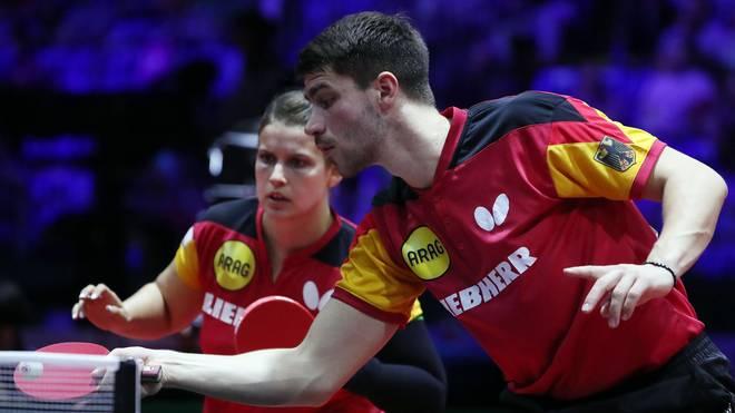 Patrick Franziska und Petrissa Solja haben bei den European Games für das erste deutsche Gold gesorgt