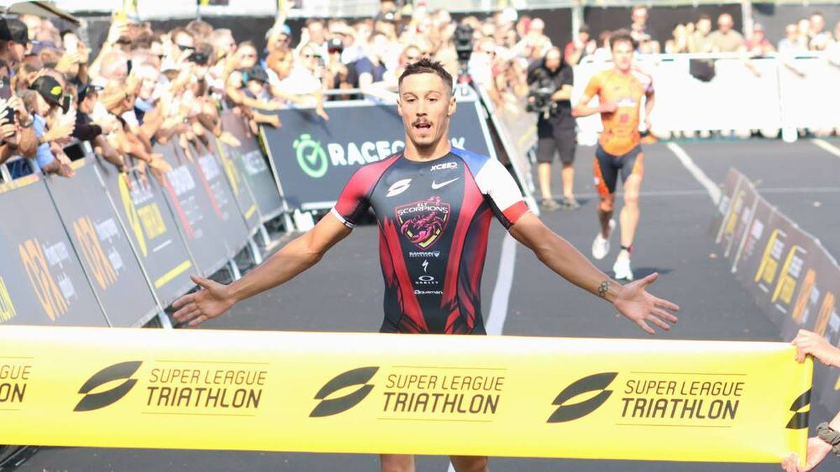 Vincent Luis siegt bei der Super League Triathlon in München
