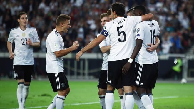Deutschland steht an der Spitze der Weltrangliste