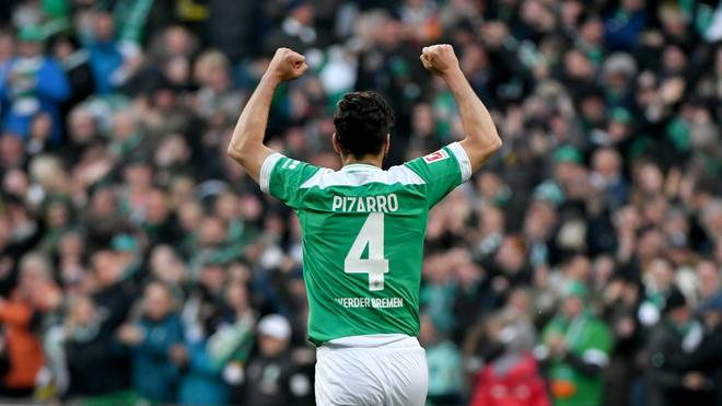 Claudio Pizarro, Werder Bremen