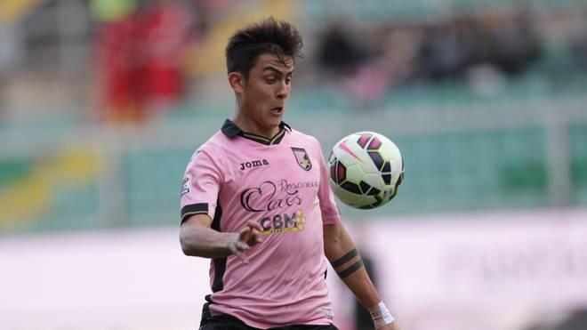 Paulo Dybala spielte einst für US Palermo