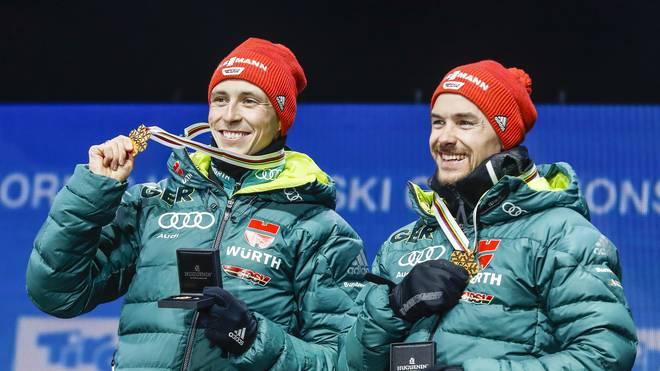 Nordische Ski-WM, Kombinierer