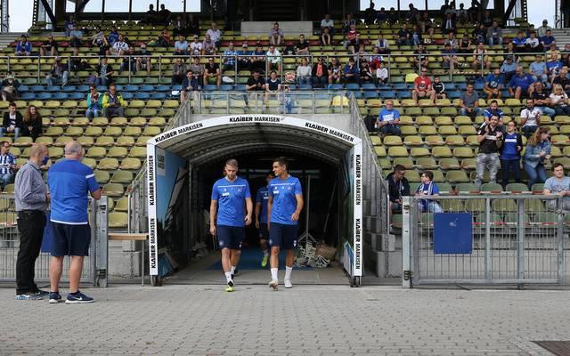 Der KSC will zumindest eine kleine Zahl an Fans wieder ins Stadion lassen