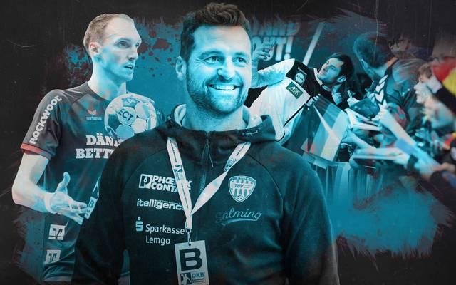 Holger Glandorf (l.) und Florian Kehrmann hoffen, dass der Handball-Hype in Deutschland genutzt werden kann