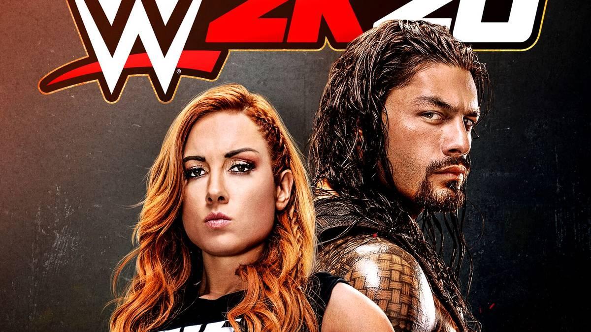 Roman Reigns ziert zusammen mit Becky Lynch das Cover von WWE 2K20