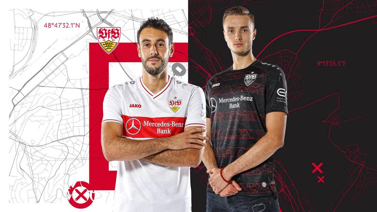 Die neuen Trikots des VFB Stuttgart setzen auf Heimatverbundenheit