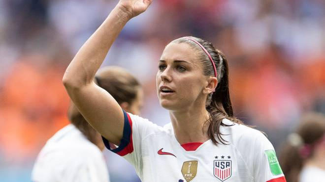 Alex Morgan wurde 2019 mit den USA Weltmeister im Frauen-Fußball
