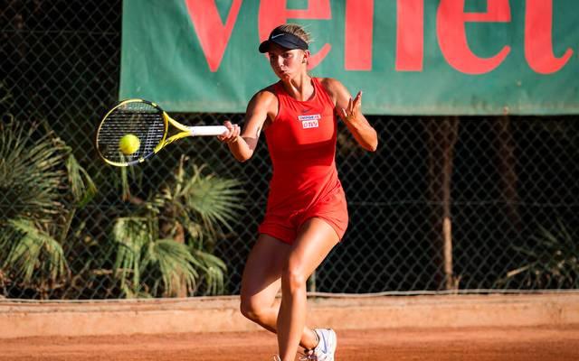 Barbara Haas hat mit unnötig viel Aufwand die zweite Runde der French-Open-Qualifikation erreicht