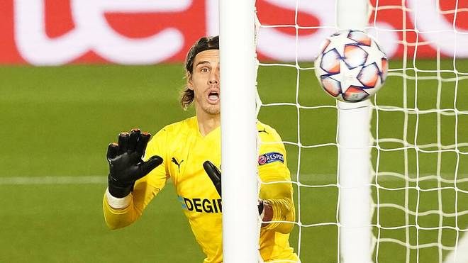 Borussia VfL 1900 Monchengladbach s Yann Sommer during UEFA Champions League match. December 9,2020. (20201209205)