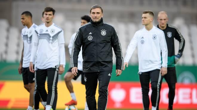 U21-EM in Italien: Stefan Kuntz benennt deutschen Kader, Die deutsche U21 ist bei der EM vom 16. bis 30. Juni als Titelverteidiger dabei