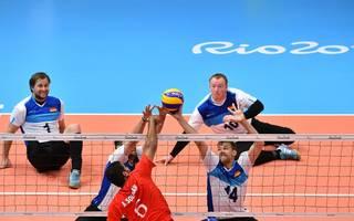 Sitzvolleyball: Qualifikationsturnier für die Paralympics in Duisburg