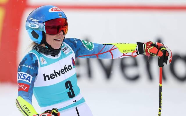 Mikaela Shiffrin wurde Zweite