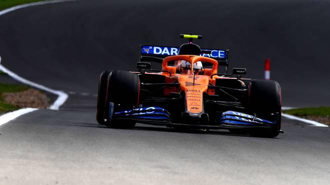 Lando Norris rechnet in Silverstone mit einem harten Kampf um seinen Rang
