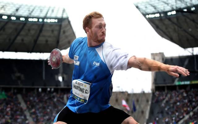 Olympiasieger Christoph Harting steht im 71-köpfigen deutschen WM-Aufgebot