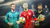 In drei großen Fußball-Nationen toben Titanenkämpfe im Tor