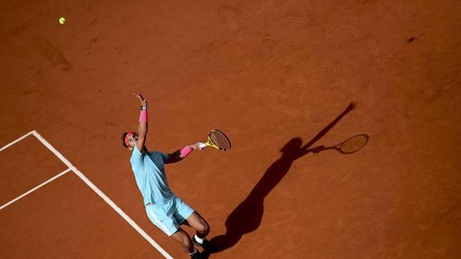 Rafael Nadal lässt keine Zweifel an seiner Favoritenrolle aufkommen