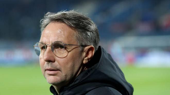 Damir Canadi ist seit Sommer Cheftrainer beim 1. FC Nürnberg