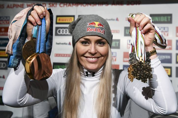 Lindsey Vonn beendet ihre einzigartige Karriere mit einer Bronzemedaille in der WM-Abfahrt von Are. Die US-Amerikanerin hat im alpinen Skisport alles gewonnen, was es zu gewinnen gibt. In der Rangliste der Athletinnen mit den meisten Weltcup-Siegen belegt sie Platz eins