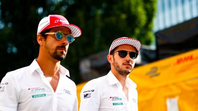 Audi Sport ABT Schaeffler Formula E Team: Daniel Abt (r. ) und Lucas Di Grassi
