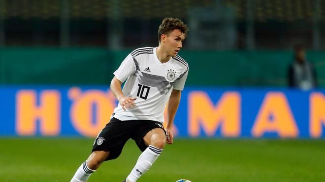 Luca Waldschmidt erzielte drei Tore für die deutsche U21