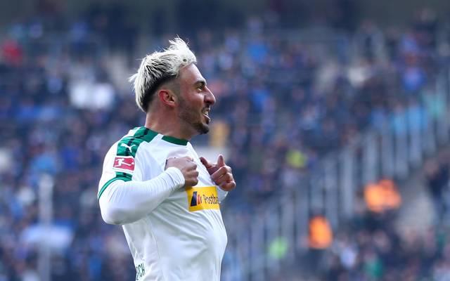 Josip Drmic stand zwischen 2015 und 2019 bei Gladbach unter Vertrag