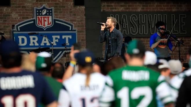 Die Draft-Show 2019 fand in Nashville statt