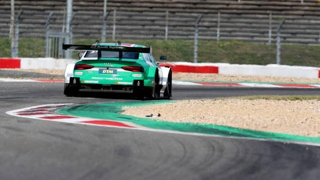 Nico Müller fährt auf dem Nürburgring zum Sieg