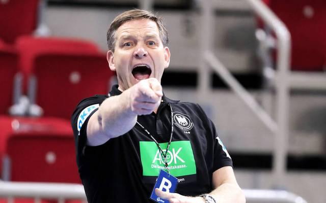 Alfred Gislason feierte nach langem Warten sein Debüt als Nationaltrainer