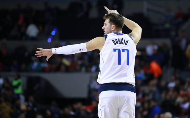 Luka Doncic gelang gegen die Golden State Warriors ein Triple-Double