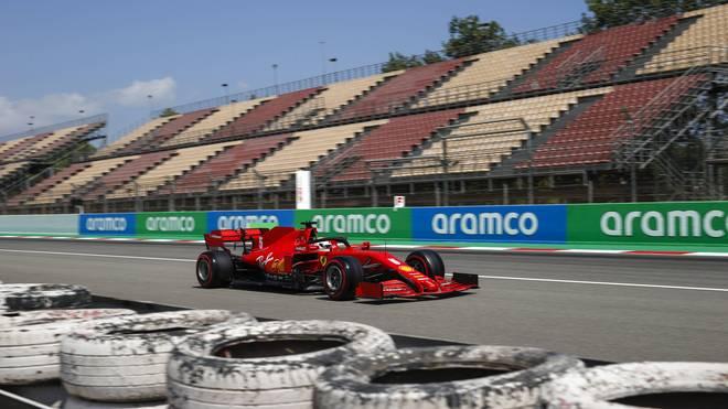Die Scuderia hatte beim Qualifying zum Spanien-GP mal wieder Probleme