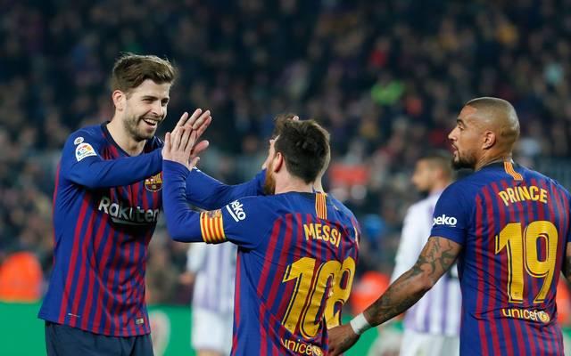 Feiert Kevin-Prince Boateng (r.) heute sein Champions-League-Debüt für den FC Barcelona?