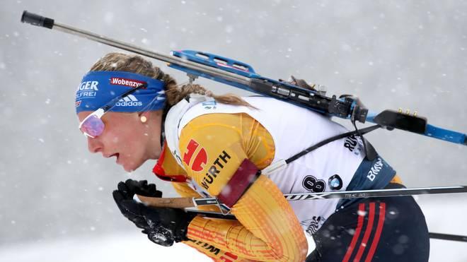 Vanessa Hinz geht für Deutschland in der Mixed-Staffel an den Start