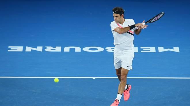 Australian Open in Melbourne führen langen Tiebreak im Entscheidungssatz ein , Roger Federer gewann 2018 die Australian Open
