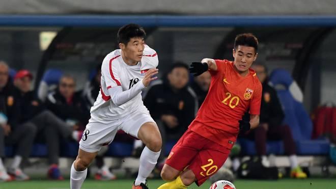 China v North Korea - EAFF E-1 Men's Football Championship