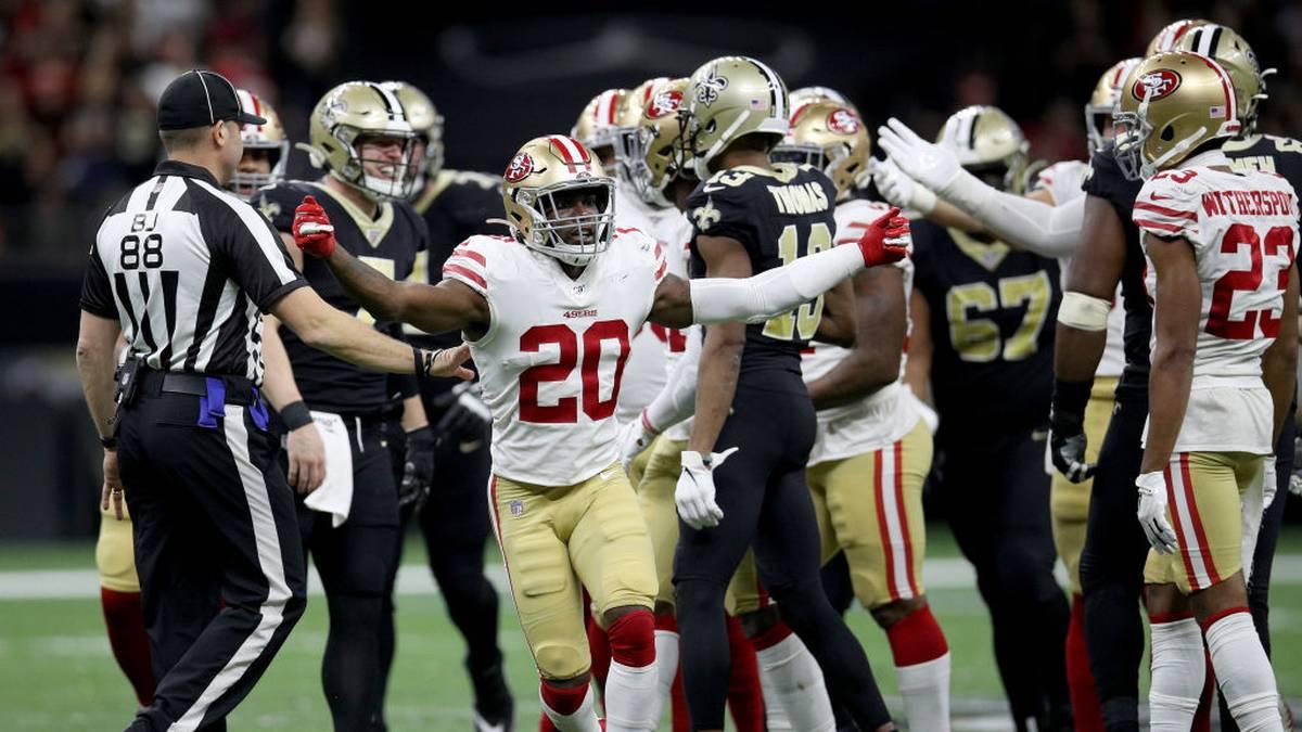 Die Saints und 49ers lieferten sich im Dezember ein 94-Punkte-Spektakel