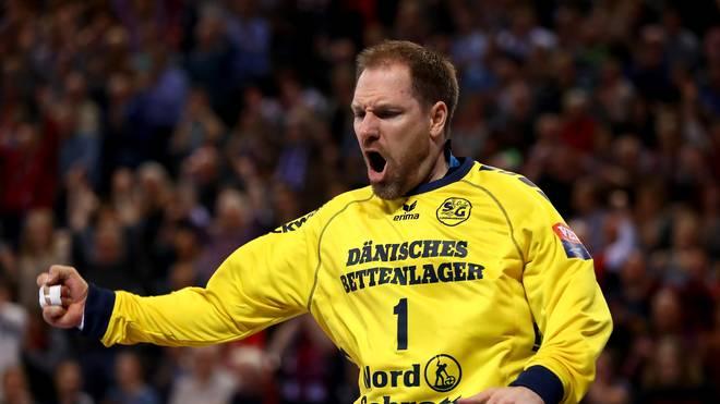 Torhüter Mattias Andersson hielt seine Flensburger im Spiel