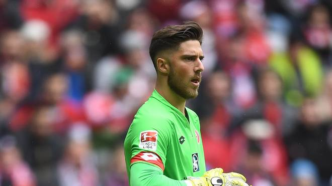 Jannik Huth ist Ersatzkeeper beim Bundesligisten FSV Mainz 05