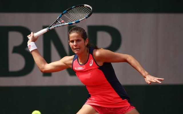 Julia Görges steht beim WTA-Turnier aus Mallorca im Achtelfinale