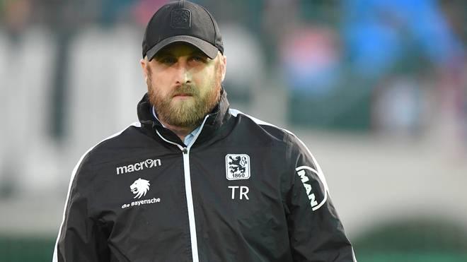 Trainer Daniel Bierofka verlor mit 1860 München gegen Carl Zeiss Jena