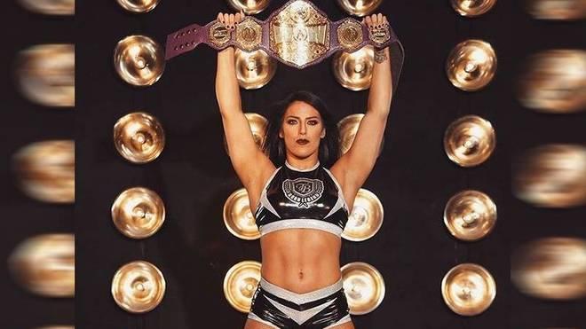 Tessa Blanchard amtierte bei Impact Wrestling als Champion