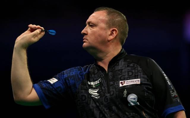 Glen Durrant gewann im Achtelfinale gegen Weltmeister Peter Wright?