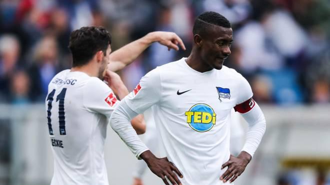 Salomon Kalou hat bei Hertha BSC keine Zukunft mehr