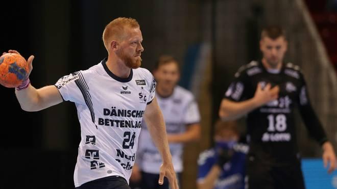 Jim Gottfridsson traf acht Mal für Flensburg