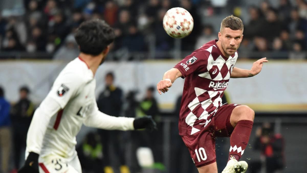 Lukas Podolski schoss Antalyaspor zum Sieg