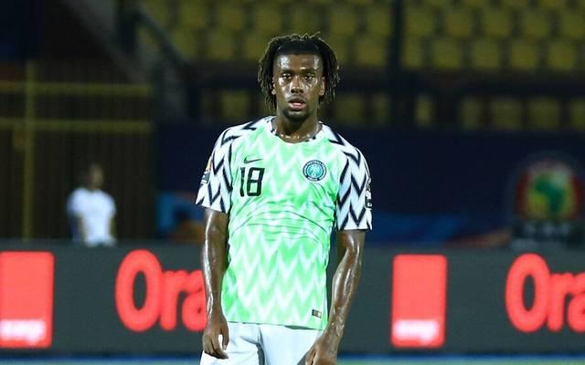 Alex Iwobi erzielte einen Doppelpack für Nigeria