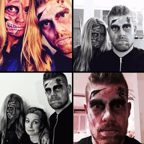 Timo Horn ist längst in Halloween-Stimmung. Der Torwart des 1. FC Köln versprüht dabei Angst und Schrecken. SPORT1 zeigt, wie die Sportstars aus aller Welt Halloween feiern
