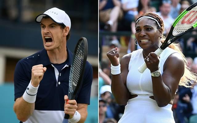Wimbledon: Murray und Williams im Mixed von French-Open-Held Mies gefordert, Andy Murray und Serena Williams treten in Wimbledon zusammen im Mixed an