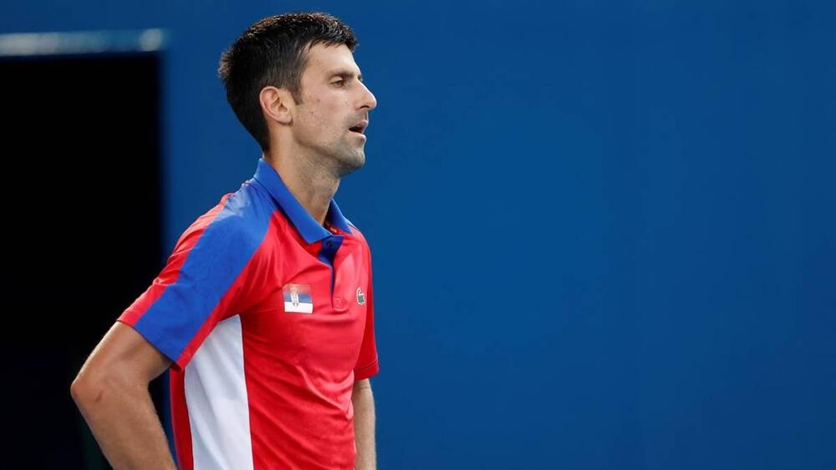 Novak Djokovic schrammte bei Olympia auch an Bronze vorbei