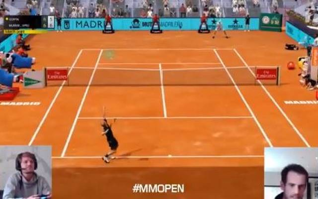 Murray Open gewann die virtuellen Madrid Open